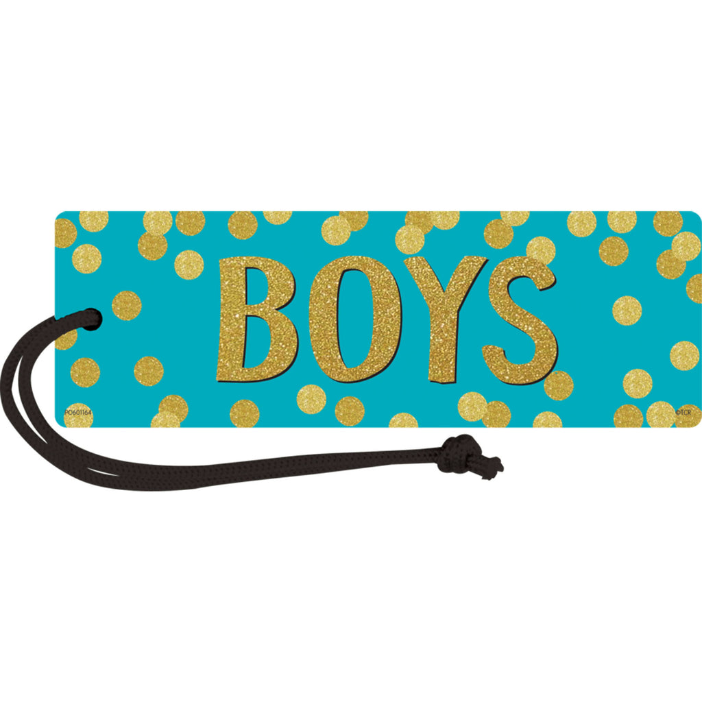 Teacher Created Resources Confetti Magnetic Boys Pass