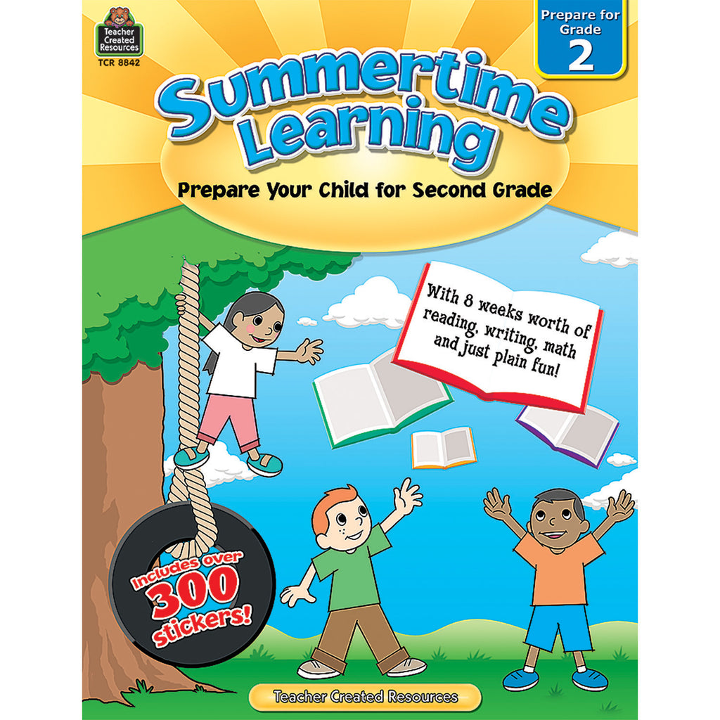 Teacher Created Resources Summertime Learning Grade 2
