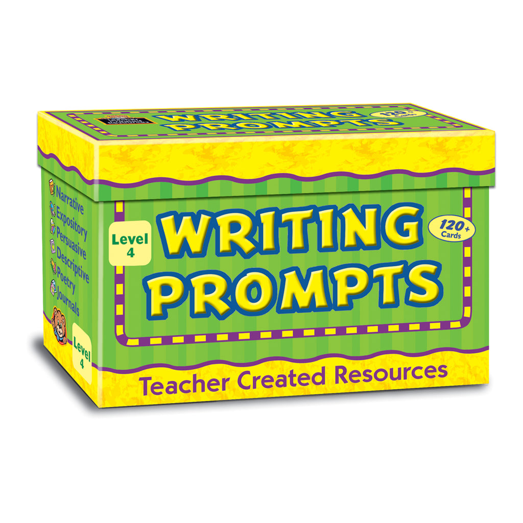 Teacher Created Resources Writing Prompts, Level 4