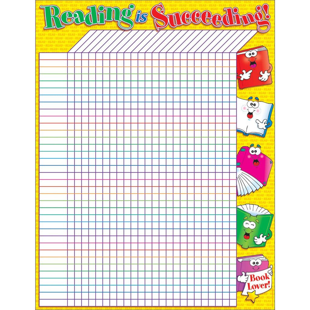 Scholastic Reading Is Succeeding Incentive Friendly Chart