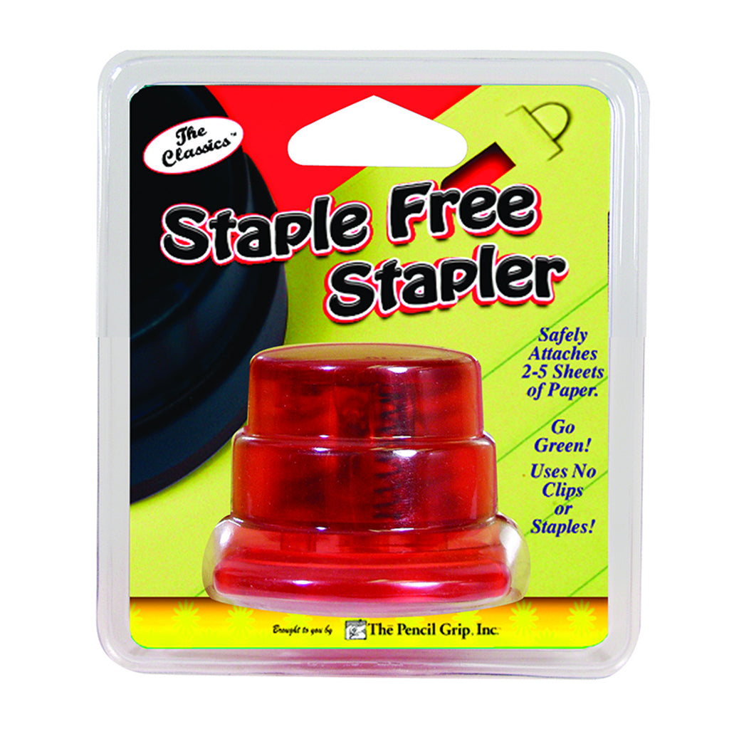 The Pencil Grip Staple Free Stapler Carded