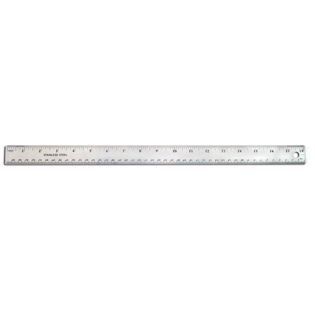 The Pencil Grip 18 Inch Stainless Steel Ruler