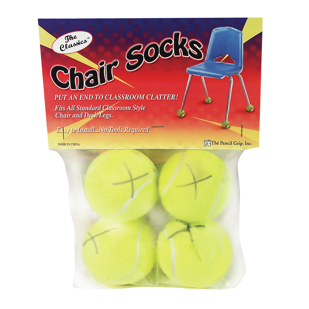 The Pencil Grip Chair Socks, 4 Count