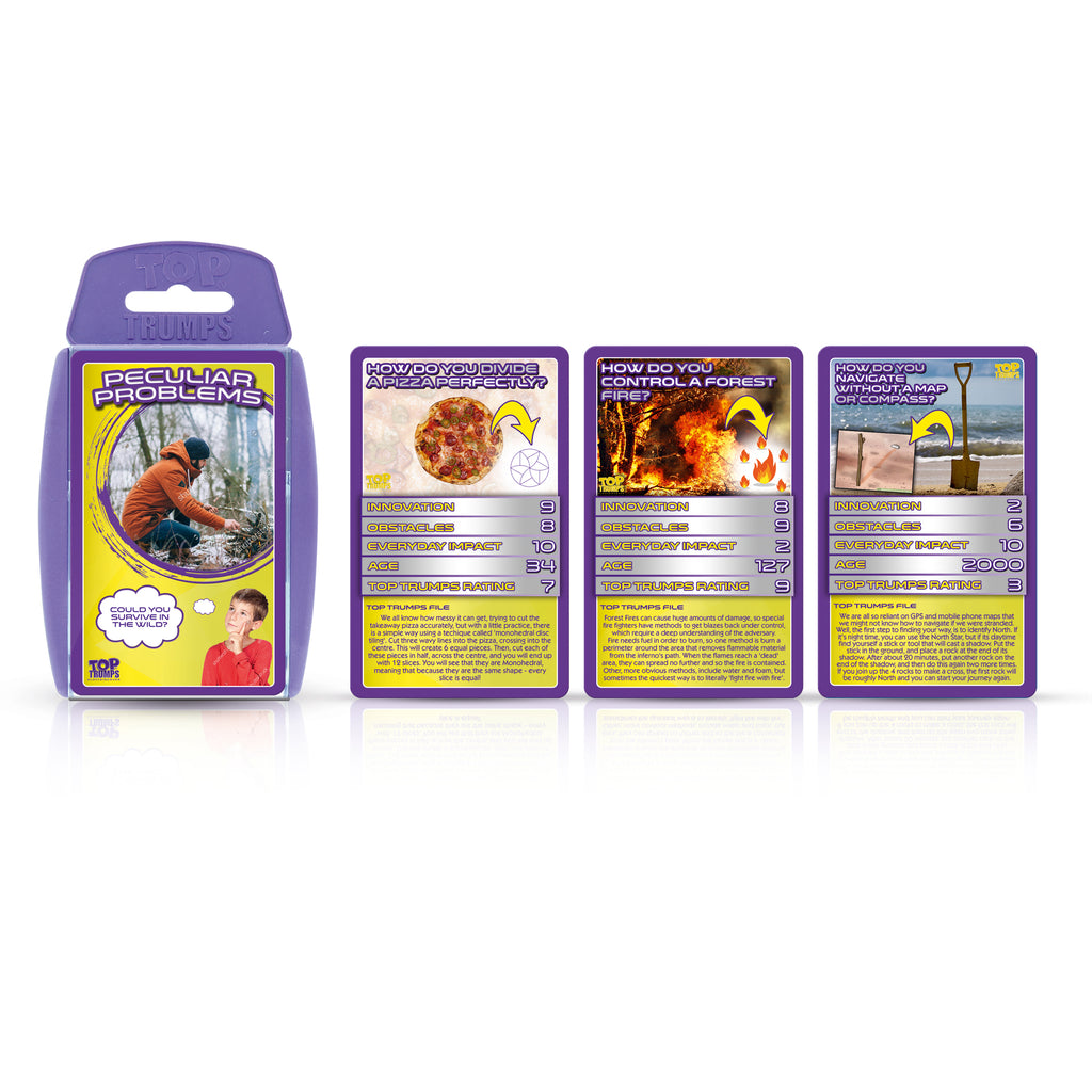 Top Trumps: Peculiar Problems Cards