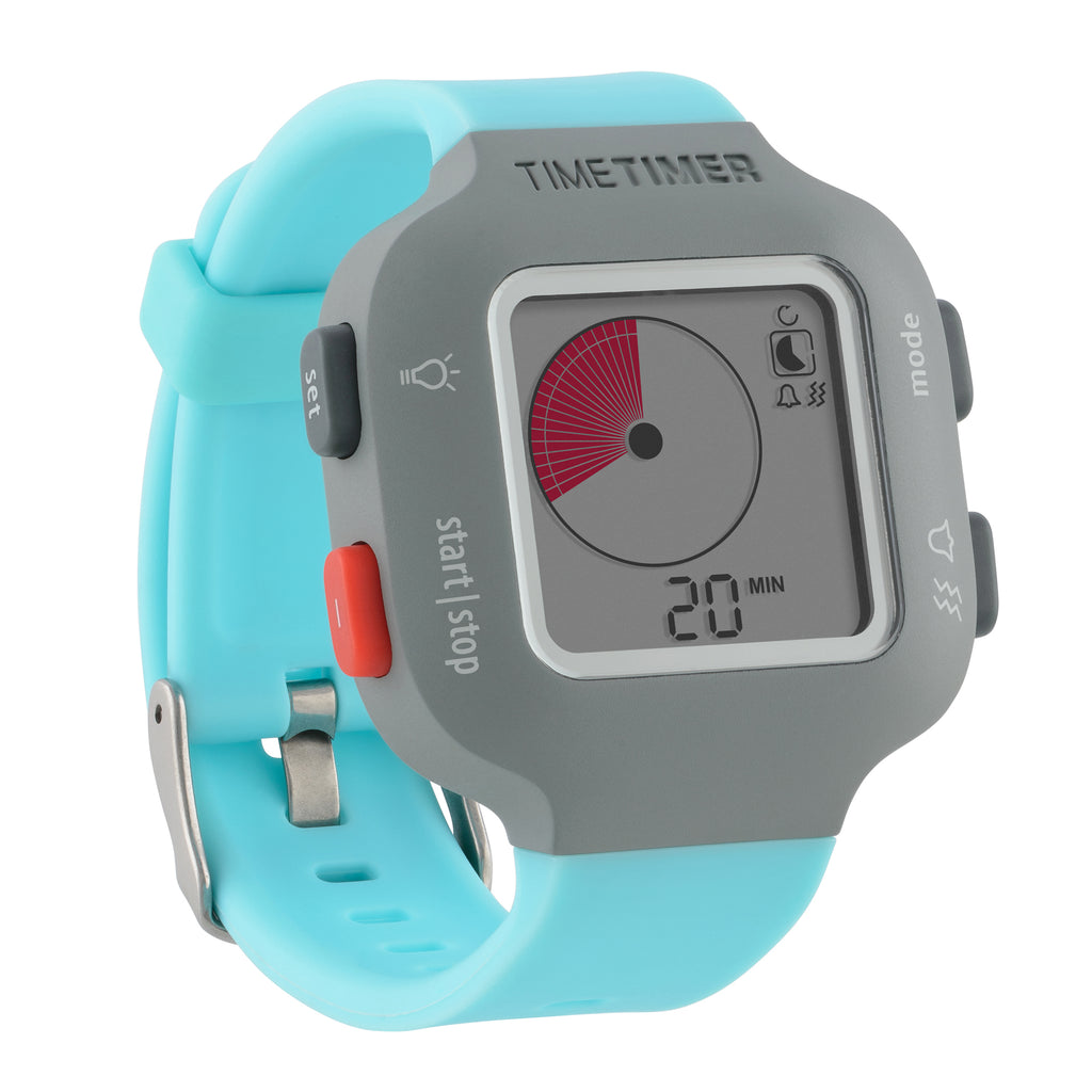 Time Timer Watch PLUS® Small, Sky Blue