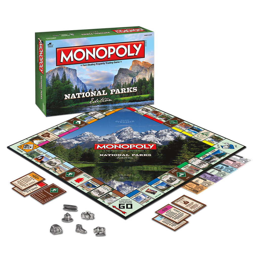 USAopoly MONOPOLY®: National Parks Edition