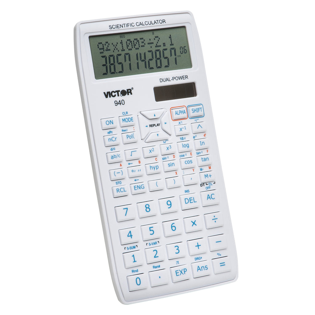 Victor Technology Scientific Calculator with 2 Line Display