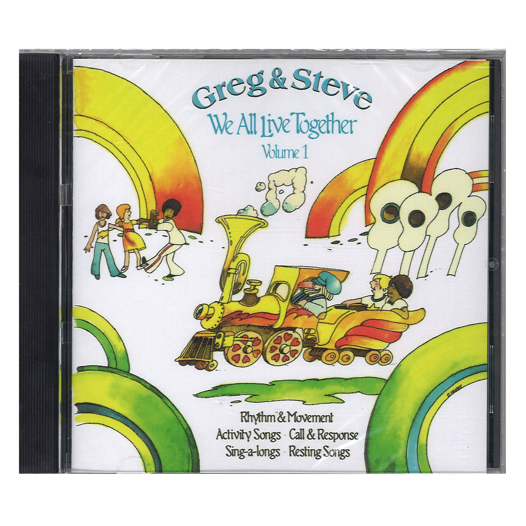 Creative Teaching Press We All Live Together Volume 1 CD Greg & Steve