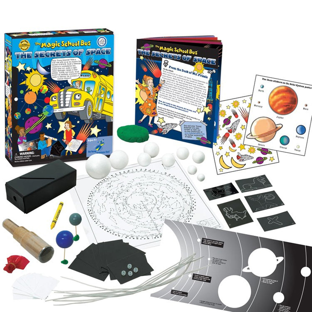 The Young Scientist Club The Magic School Bus: The Secrets of Space Kit