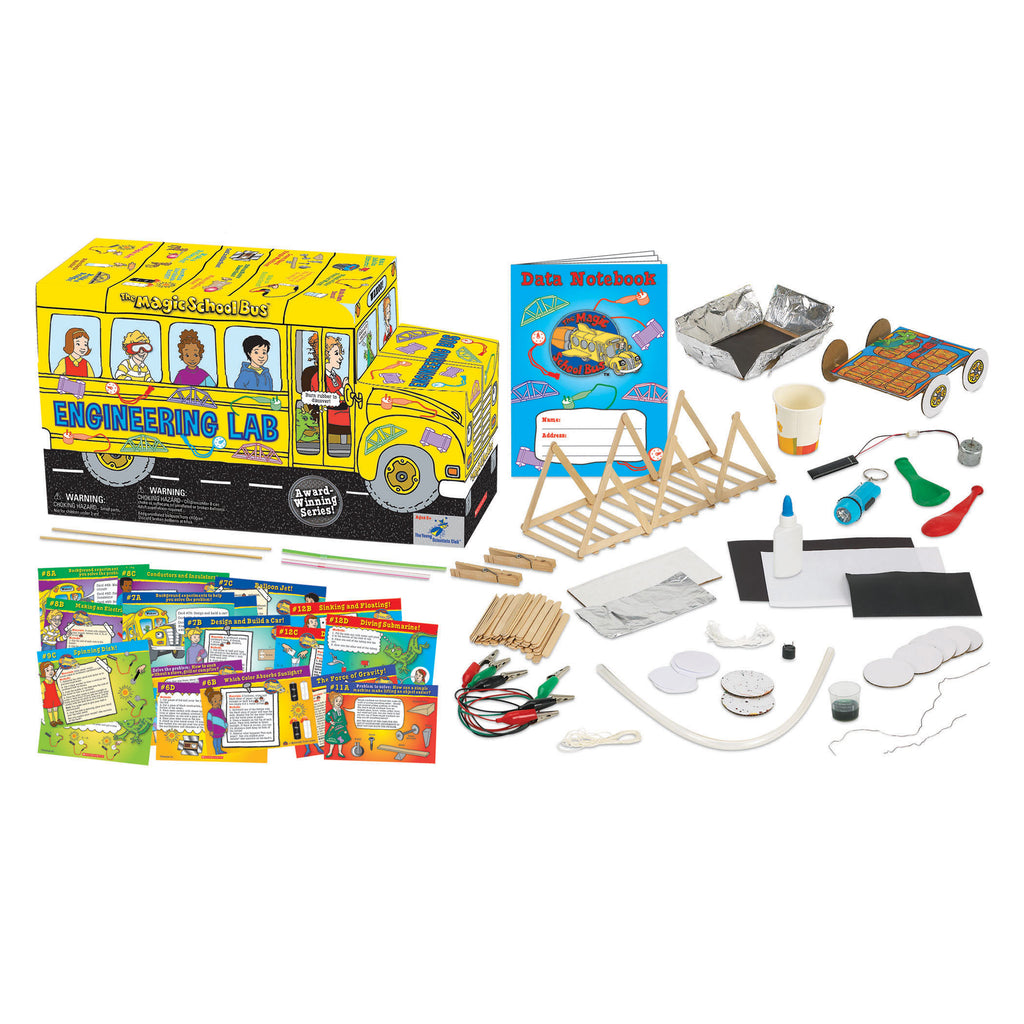 The Young Scientist Club The Magic School Bus: Engineering Lab