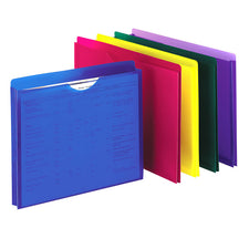 Pendaflex Poly File Jackets 10 Count Letter Size