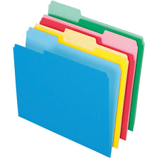 Pendaflex 24 Count Essentials File Folders Assorted Letter Size