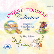 Infant / Toddler Collection by Hap Palmer - 3 CD Set