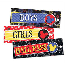 Mickey® Color Pop! Hall Passes