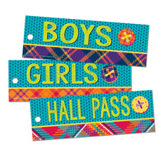 Plaid Attitude Hall Passes