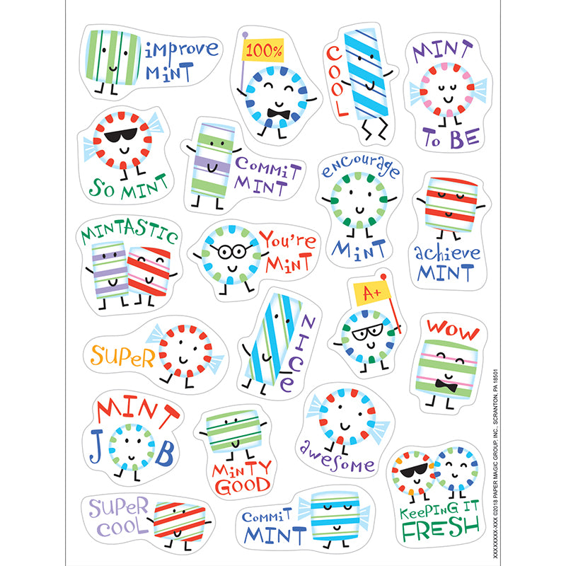 Mint Stickers - Scented