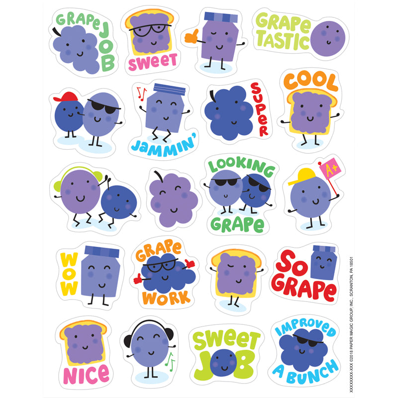 Grape Stickers - Scented