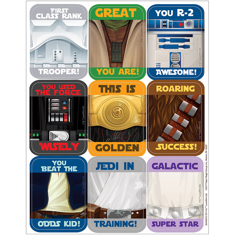 Star Wars™ Giant Motivational Stickers