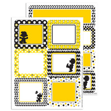 Peanuts® Touch of Class Label Stickers