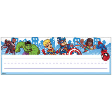 Marvel™ Super Hero Adventure Self-Adhesive Name Plates