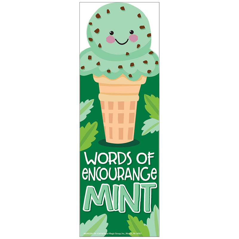 Mint Scented Bookmarks