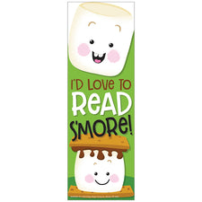 Marshmallow Scented Bookmarks