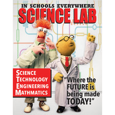 Muppets® Science Lab Poster
