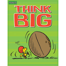 Peanuts® Think Big Poster