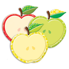 Color My World Apples Assorted Paper Cut Outs