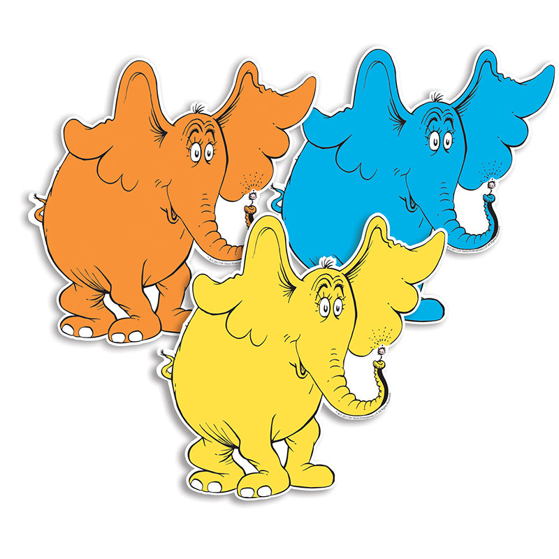 Dr. Seuss™ Horton Assorted Paper Cut-Outs