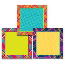 Plaid Attitude Squares Paper Cut-Outs