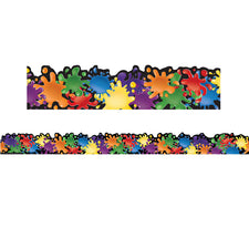 Color My World Extra Wide Die Cut Deco Trim®