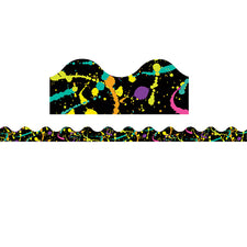 Rock the Classroom Splatter Deco Trim®