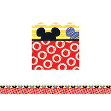 Mickey® Color Pop! Peeking Head Extra Wide Deco Trim