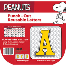 "Peanuts® Touch of Class 4"" Deco Letters"