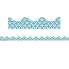 Blue Harmony Peacock Deco Trim®