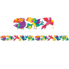 You Can Toucan Extra Wide Die-Cut Deco Trim®