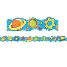 Color My World STEM Icons Extra Wide Deco Trim®
