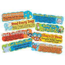 Dr. Seuss™ Reading Tips Mini Bulletin Board Set