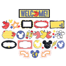 Mickey® Color Pop! Bulletin Board Set