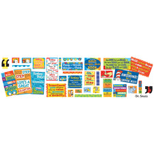 Dr. Seuss™ 35 Quotes Bulletin Board Set