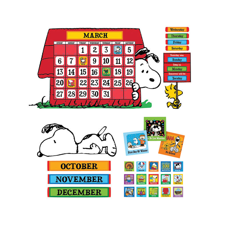 Peanuts® Calendar Bulletin Board Set