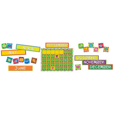 A Sharp Bunch Calendar Bulletin Board Set