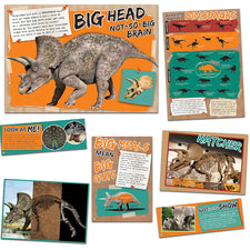 Smithsonian - Amazing Dinosaurs (Mascot) Bulletin Board Set