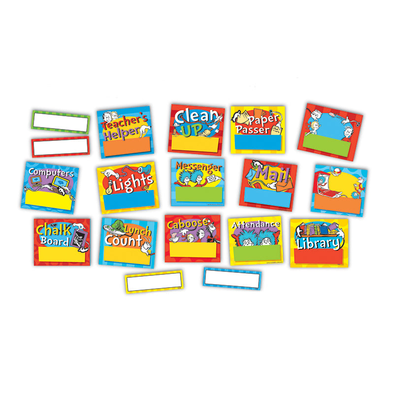 Dr. Seuss™ Standard Job Chart Mini Bulletin Board Set