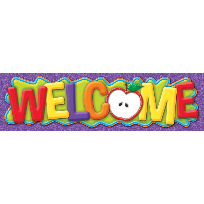 Color My World Welcome Classroom Banner