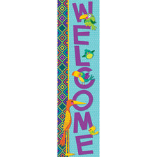 You Can Toucan Vertical Welcome Banner