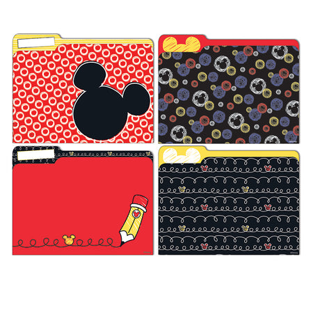 845227 Peeking Head Deco Trim Extra Wide Die Cut Eureka Mickey Color Pop!