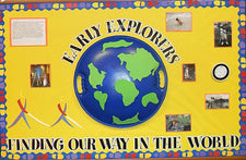 Early Explorers! Finding Our Way in the World! - Columbus Day Bulletin Board