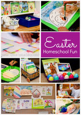 10 Easter Crafts, Lessons, & Activities!